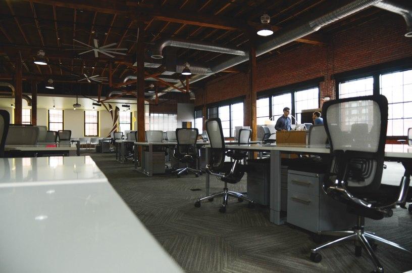 Een nieuwe werkplek na de verhuizing